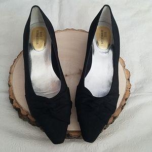 Vintage Ros Hommerson Black Heels Sz 6M
